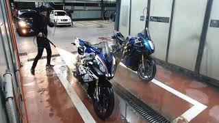 오토바이 셀프세차장 이용법