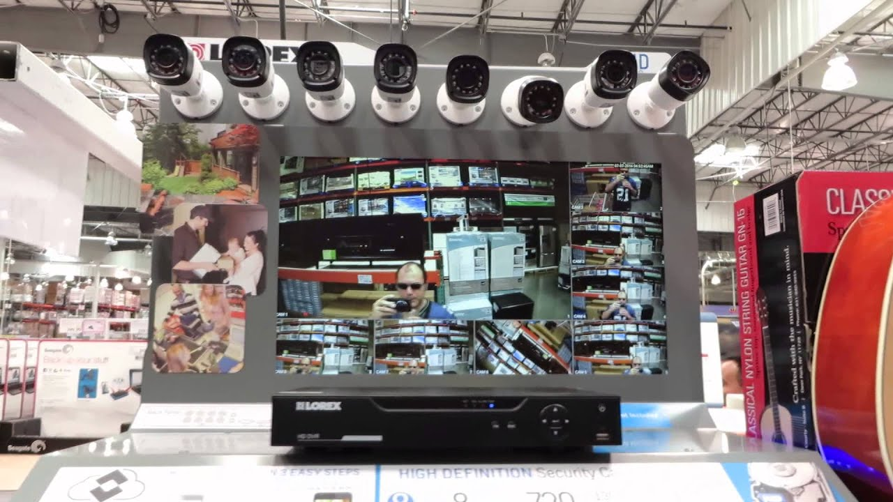 E looking at the mass of security cameras at costco MVI 4309 - YouTube