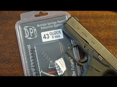 Glock 43 DPM Systems Recoil Reduction System Installation