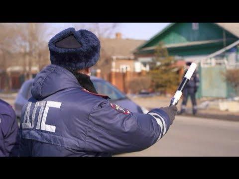 Правила перевозки детей проверили сотрудники полиции