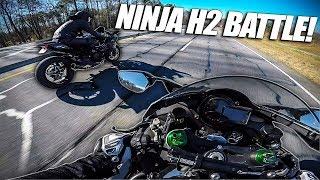 Carbon Fiber H2 Vs. Modded H2 (Ninja H2 Faceoff)