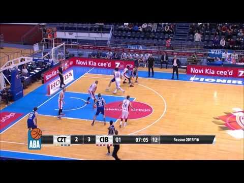 Full: Crvena zvezda Telekom – Cibona [ABA – Round 12] [30/11/2015]