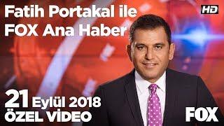 Yeni ekonomik programda kıdem tazminatı düğümü! 21 Eylül 2018 Fatih Portakal ile FOX Ana Haber