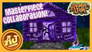 Trick or Treating Masterpiece Collab!  |  Animal Jam