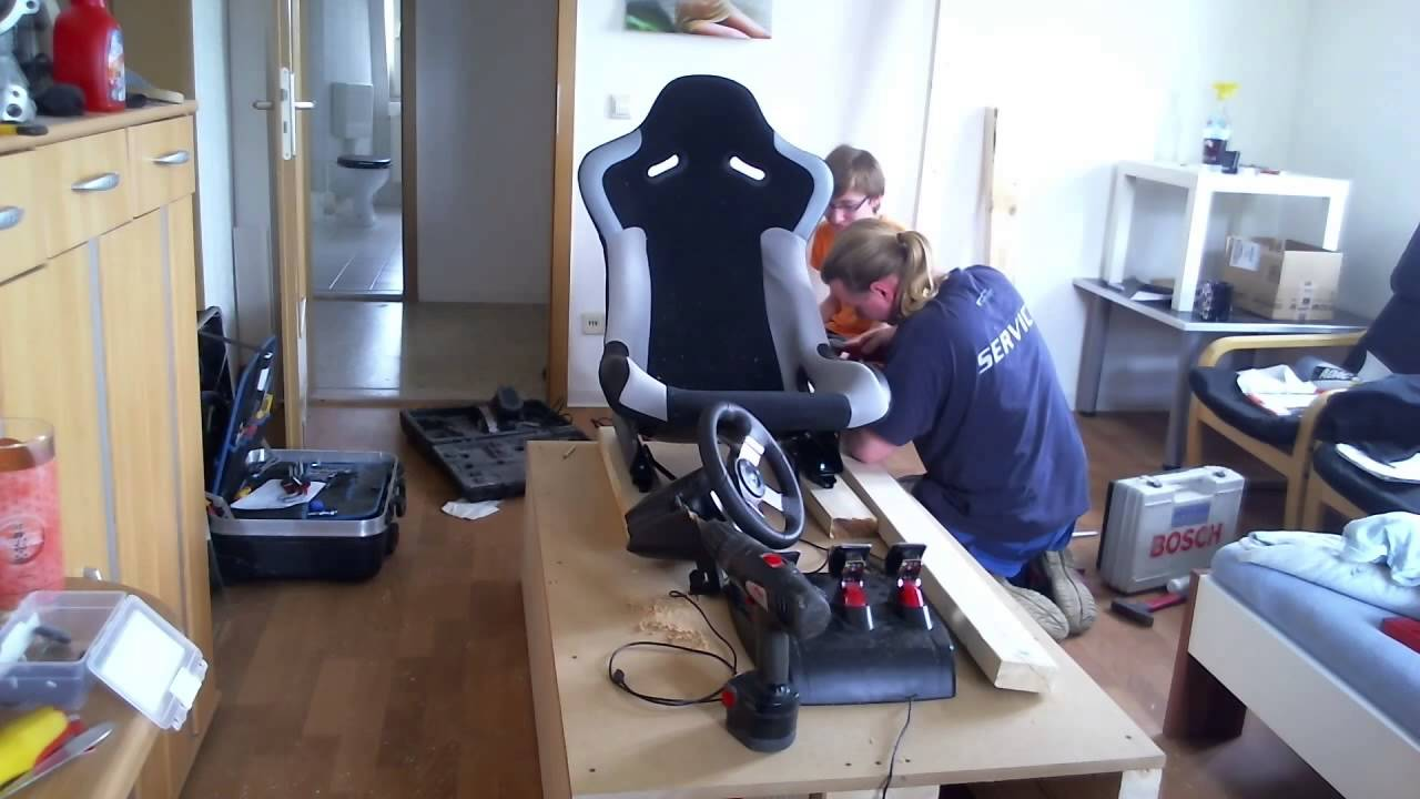 Sim Rig Eigenbau Speedmotion Zeitraffer Hd St3pp0lp Thewikihow