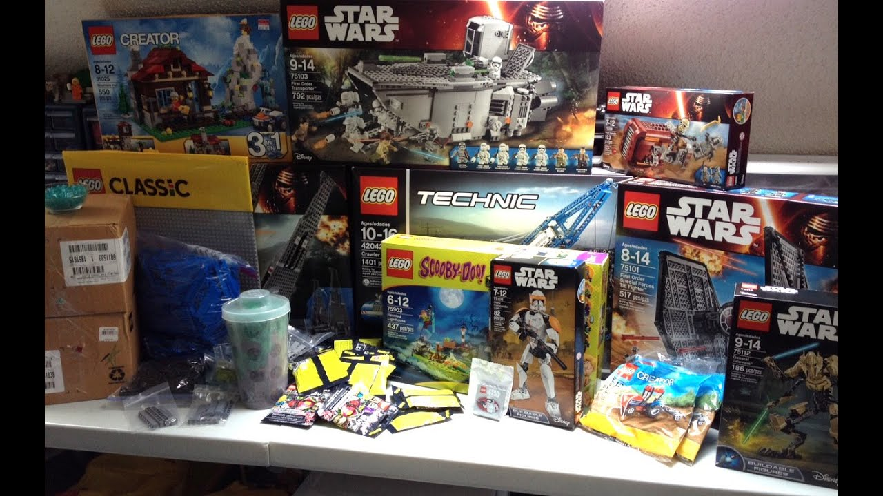 Lego haul 49 forcefriday 2015 lego store toys r us for Lago store outlet