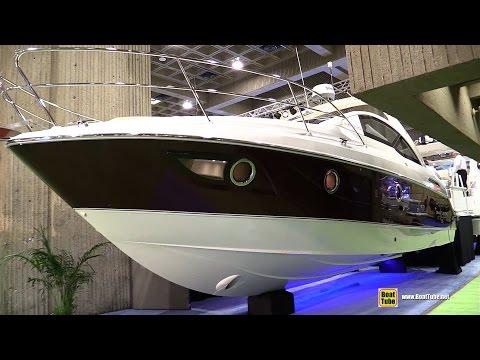 2014 beneteau gran turismo 35 motor yacht exteriorinterior 2015 beneteau gran turismo 35 motor yacht walkaround 2015 montreal boat show sciox Gallery