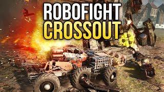 Crossout Robofight: МИНОТАВР vs НАДСМОТРЩИК