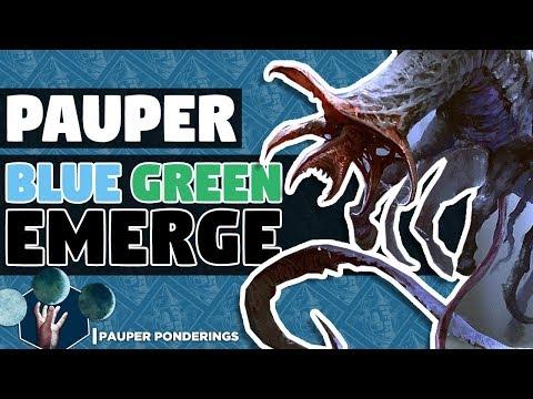 Pauper Ponderings: Blue Green Emerge