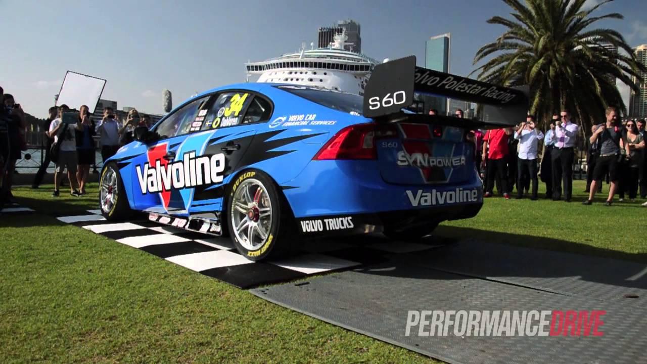 2014 Volvo V8 Supercar engine sound - YouTube