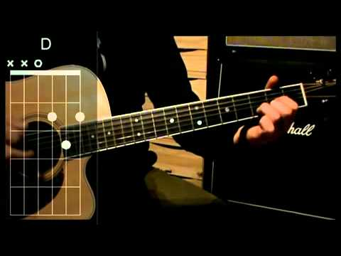 How to play: Pink Floyd - Pigs On The Wing - Guitar Chords