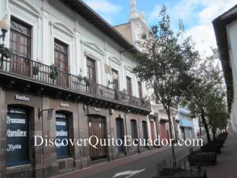 Hermoso Old Town Quito Ecuador