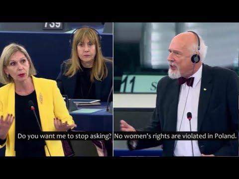 Janusz Korwin-Mikke vs EU Feminists' Logic