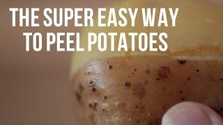 The super easy way to peel potatoes [BA Recipes]