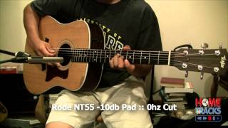 Rode NT55 Condenser Mic Unboxing & Test