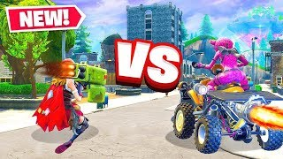 *NEW* Quadcrasher VS Quad Launcher DESTRUCTION Test in Fortnite Battle Royale!
