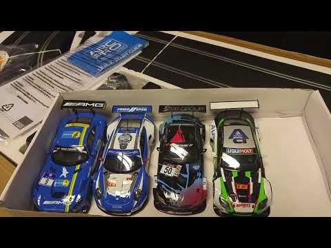 Scalextric Digital Arc Pro Platinum GT Set – Unboxing C1374