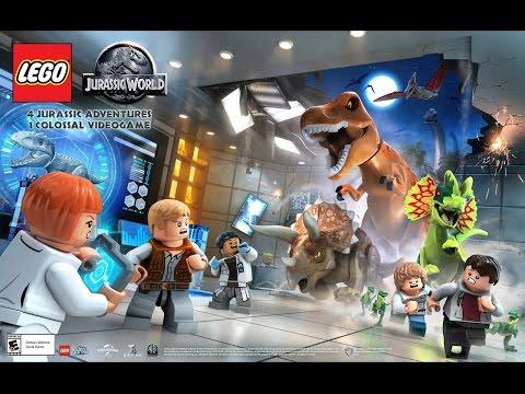 || Jurassic Park: LEGO || Классная игра про динозавров(обзор и геймплей)