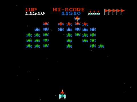 Galaxian Walkthrough/Gameplay NES HD 1080p