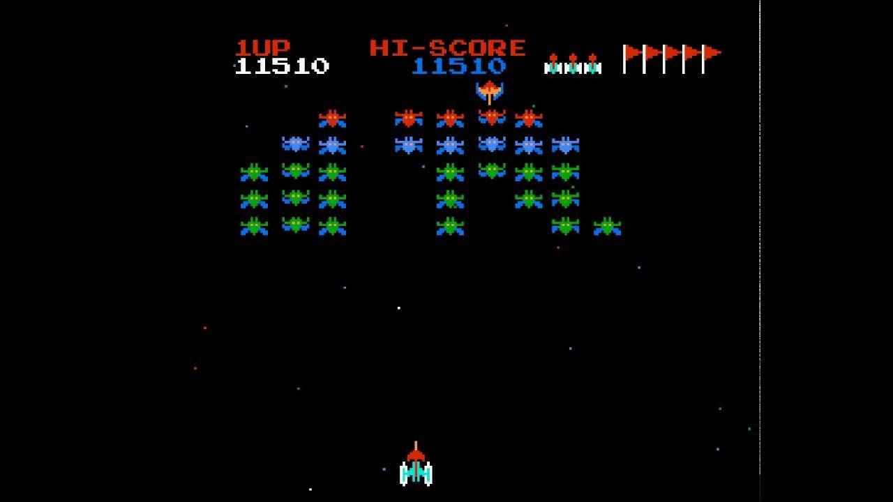 galaxian walkthroughgameplay nes hd 1080p youtube