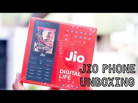 Reliance JioPhone Unboxing