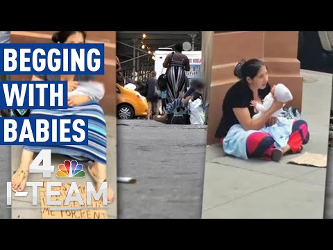 New Plan for NYC's Ongoing Street Begging With Babies Issue   I-Team