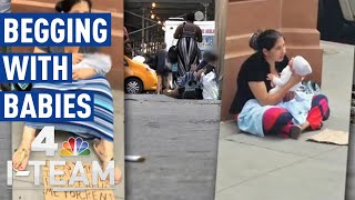 New Plan for NYC's Ongoing Street Begging With Babies Issue | I-Team
