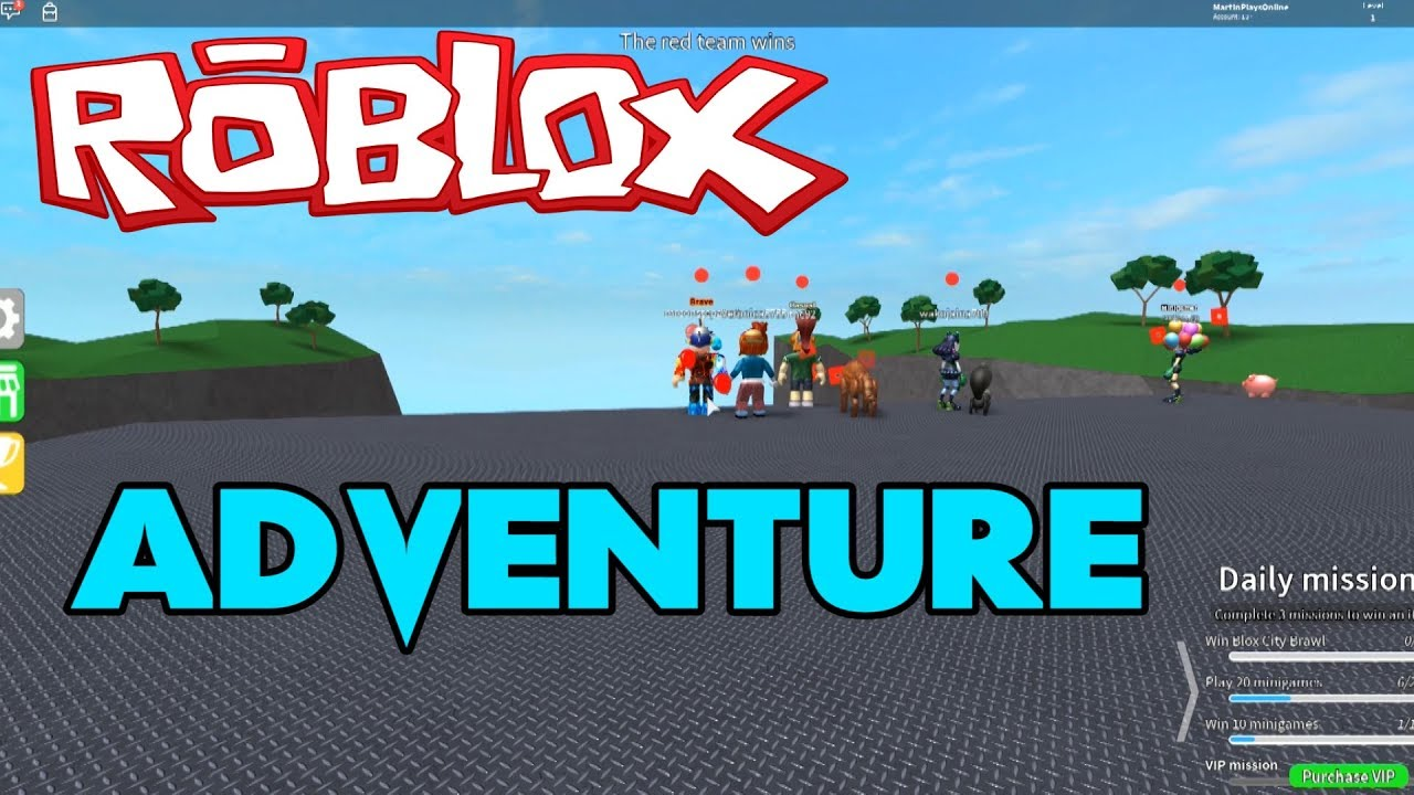 Adventure and Mini Games:  Feat Fran & Veronica   Roblox