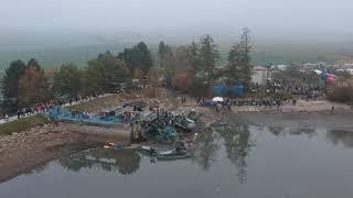 Výlov rybníka u Blatničky