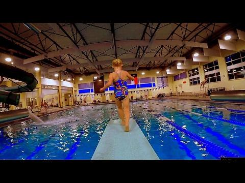 Diving Board Bonanza With Elizabeth Swims