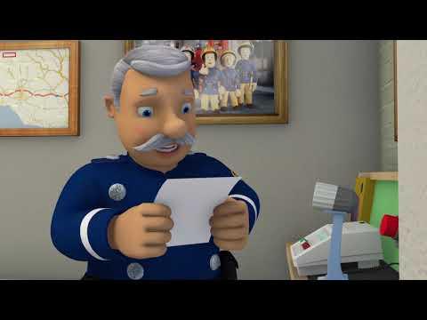 New Fireman Sam ❄️Elvis's Slippery Ice Skating ❄️Fireman Sam Funniest Moments 🔥Kids Cartoons