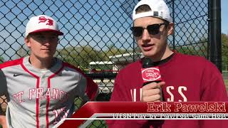 St. Francis Baseball Post-Game 5/23/18