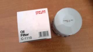 Фильтр масляный Sakura C-1110 Toyota