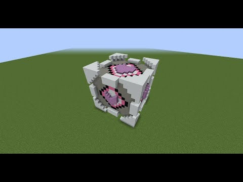 How to build the Companion Cube in minecraft