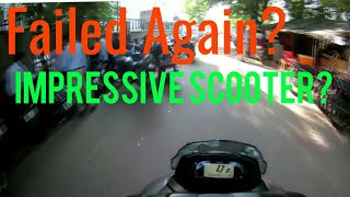 Suzuki Burgman 125 Review after First Ride Failed