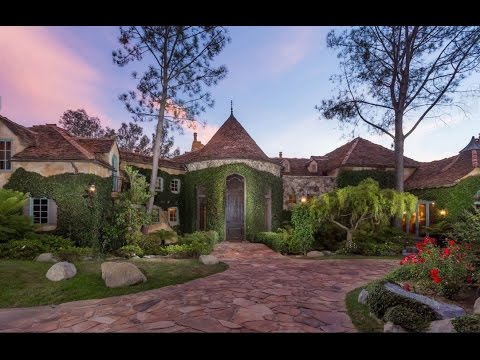 French Country Style Castle in Fairbanks Ranch  YouTube