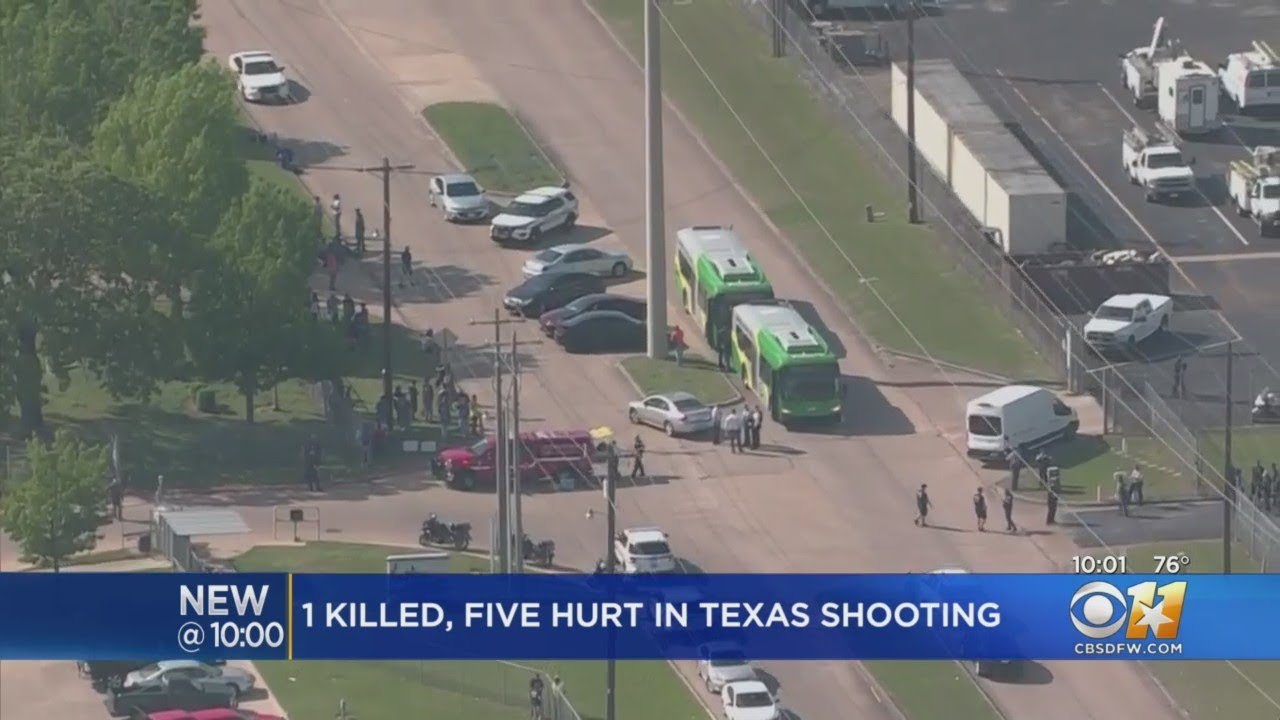 1 dead, 5 injured in Bryan, Texas, shooting