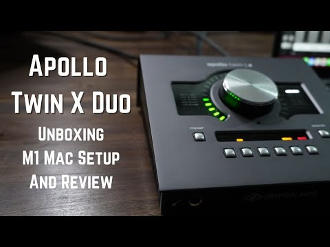 Apollo Twin X Duo Unboxing Setup And Review