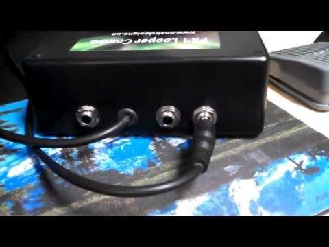 FX1 Looper Combo For CB/Ham Radio Pro Audio Connections!