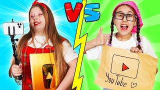 Rica Blogger VS Pobre Blogger || Situaciones divertidas con amigos