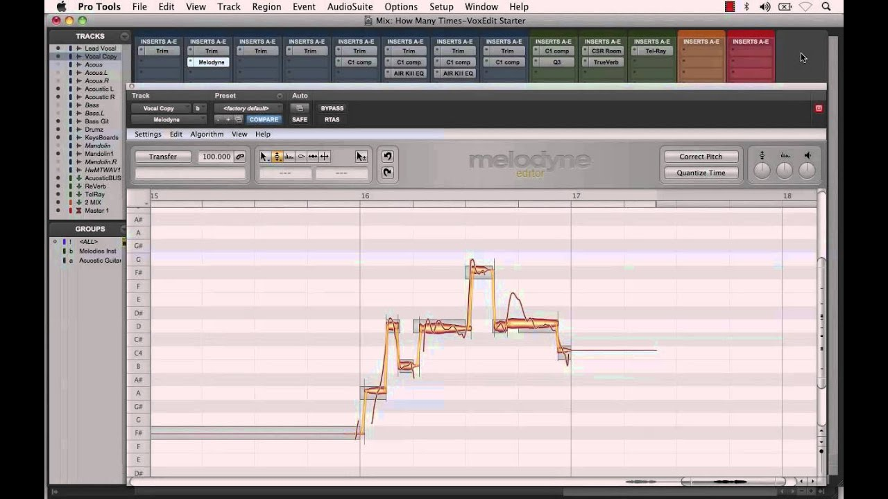 melodyne plugin creating vocal harmony effects in pro tools youtube. Black Bedroom Furniture Sets. Home Design Ideas