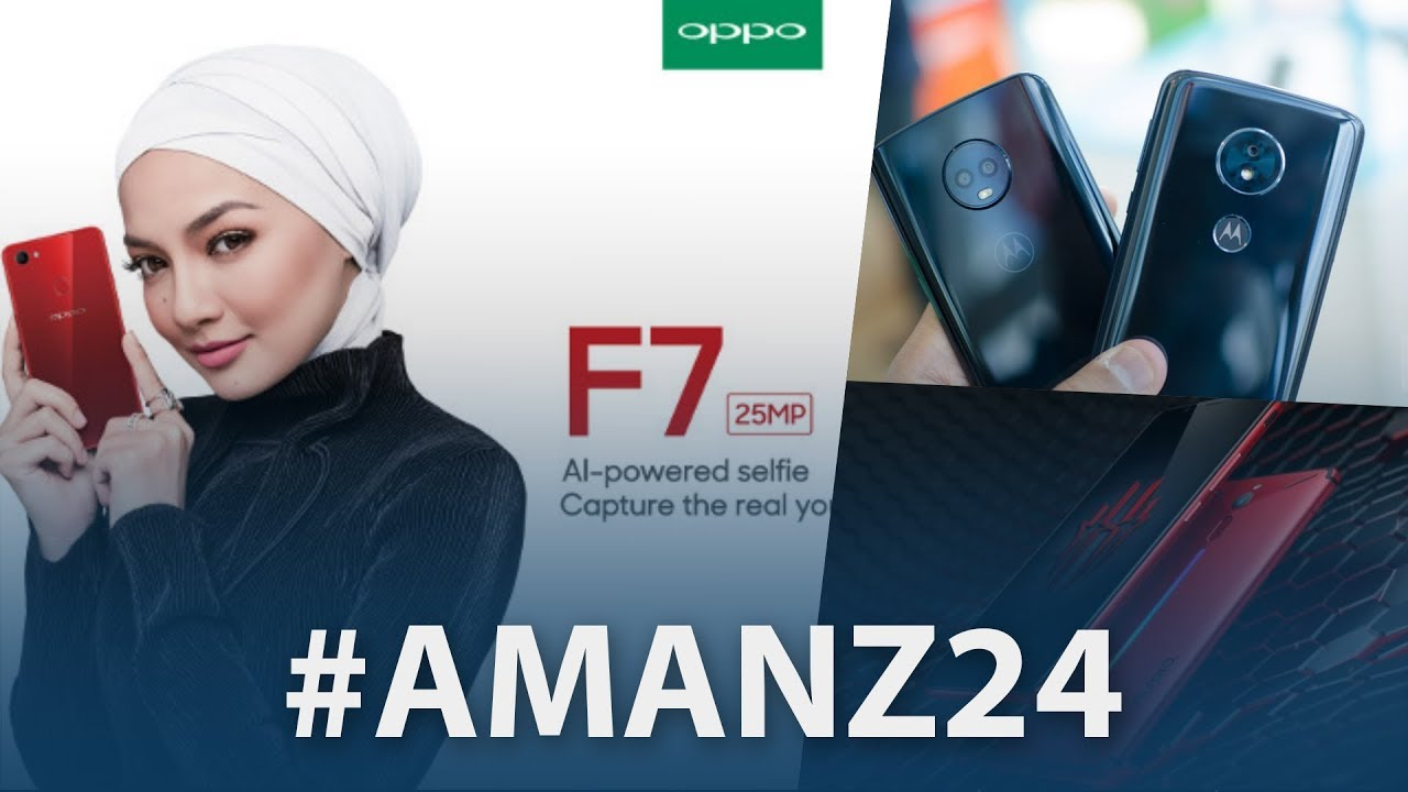 #Amanz24 - OPPO F7 RM 1399, Telefon Moto Baru, Xpax Baru