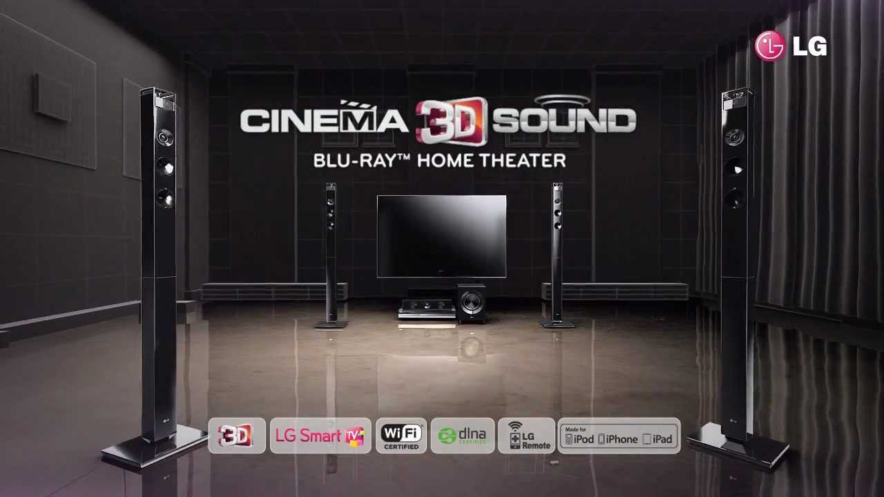 Sonos Thuisbioscoop Lg Cinema 3d Sound Home Theater Wmv