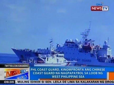 NTG: PCG, kinompronta ang Chinese Coast Guard na nagpapatrol sa loob ng West PHL Sea