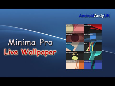 Minima Pro Live Wallpaper For Android