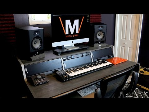 The Ultimate Home Studio Desk