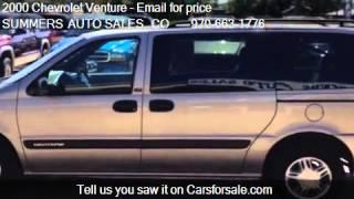 2000 Chevrolet Venture Plus Extended - for sale in Loveland