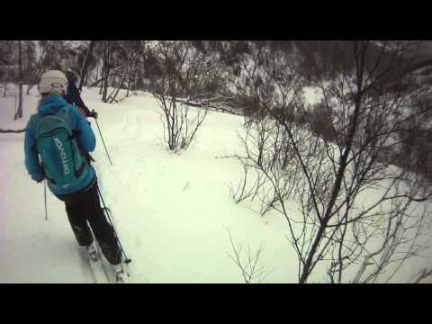 Off-piste skiing in Åre, Sweden 2014; We LOVE Susabäcken!