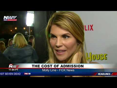 Fox News Reporter Molly Line talks about College Admission Scandal