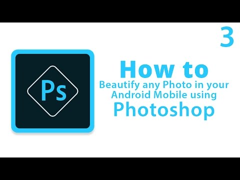 Basic Editing tutorial with Photoshop Express on Android